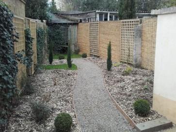 Un jardin plus grand